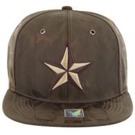 SM819 STAR , NYLON CAMO (BROWN)