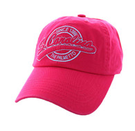 BM701 South Carolina State Washed Cotton Polo Cap (Solid Hot Pink)