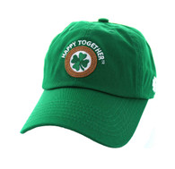 BM710 Happy Together Washed Cotton Polo Cap (Solid Kelly Green)