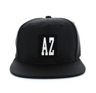 SM525 Arizona State Cotton Snapback (Solid Black)