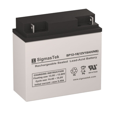 Haze Batteries HZB12-18 Replacement Battery