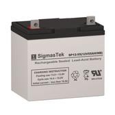 Haze Batteries HZB12-55 Replacement Battery