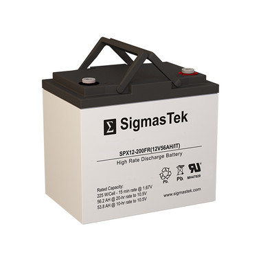 Power Battery TC-1250S UPS Battery (Replacement)