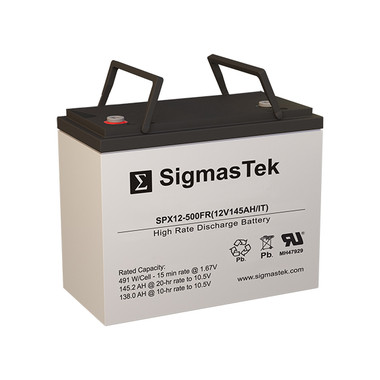 C&D Dynasty UPS12-490MRLP UPS Battery (Replacement)