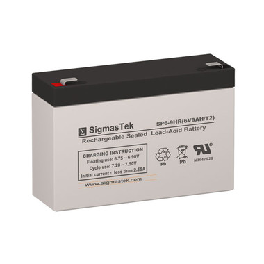 Zeus Battery PC9-6 Replacement Battery