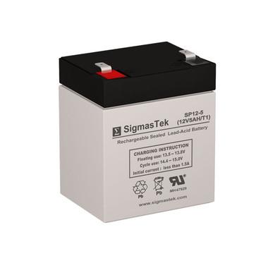 12 Volt 5 Amp Sealed Lead Acid Battery