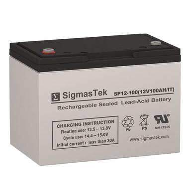 12 Volt 100 Amp IT Sealed Lead Acid Battery