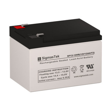 12 Volt 12 Amp HR Sealed Lead Acid Battery