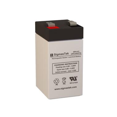 4 Volt 4.5 Amp Sealed Lead Acid Battery