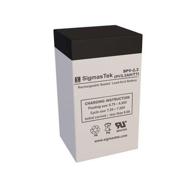 6 Volt 2.3 Amp Sealed Lead Acid Battery