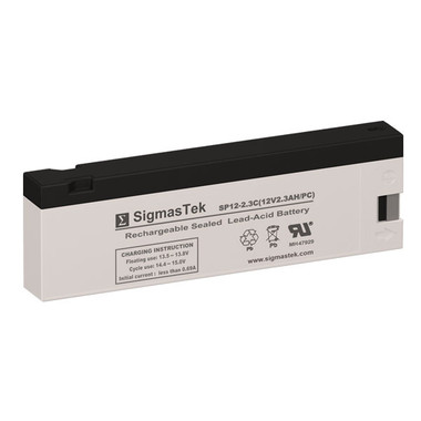 12 Volt 2.3 Amp PC Medical Battery