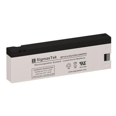 12 Volt 2.3 Amp PC Medical Battery