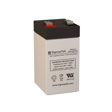 4 Volt 4.5 Amp Medical Battery