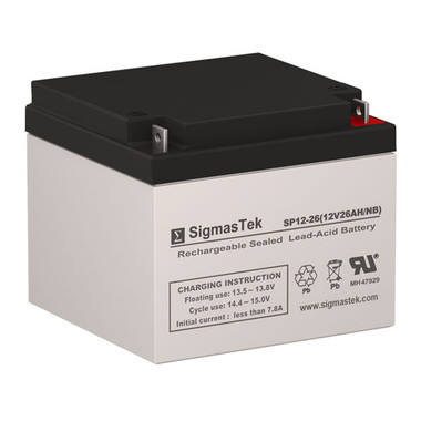 12 Volt 26 Amp UPS Battery