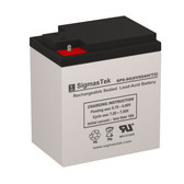 6 Volt 60 Amp Sealed Lead Acid Battery
