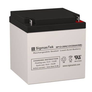 12 Volt 28 Amp Deep Cycle Battery