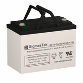 12 Volt 35 Amp IT Deep Cycle Battery
