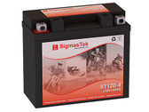 Ducati 1100CC Hypermotard, 2007-2010 Battery  (Replacement)