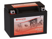 SYM 125CC HD, 2009 Battery
