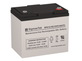 SigmasTek SPG12-55 IT ( BCI 22NF ) GEL Battery