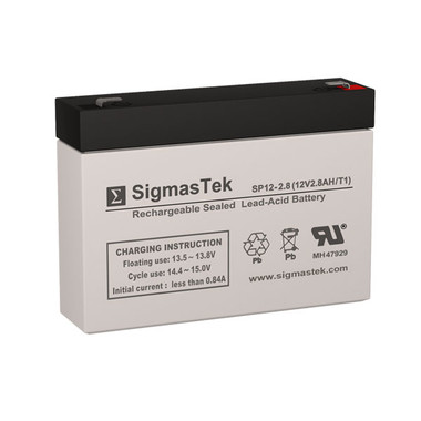 SigmasTek SP12-2.8 Battery