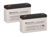 Simplex Alarm 20013072 12VOLT Batteries (Replacement)
