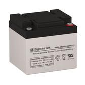 GS Portalac PWL12V38 Telecom Battery (Replacement)