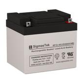 Leoch Battery DJM1238 Replacement Battery