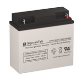 Exell Battery EB12220 Replacement