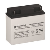 Haijiu 6DFM17 SLA Battery (Replacement)
