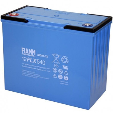 FIAMM 12FLX540 FLX Series High Rate UPS Battery