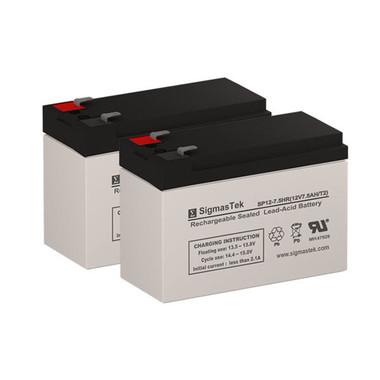 APC Back-UPS XS 1500VA BX1500BP Compatible Replacement Battery Set