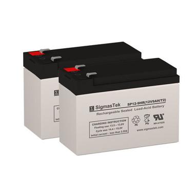 APC Back-UPS RS BR1100CI Compatible Replacement Battery Set