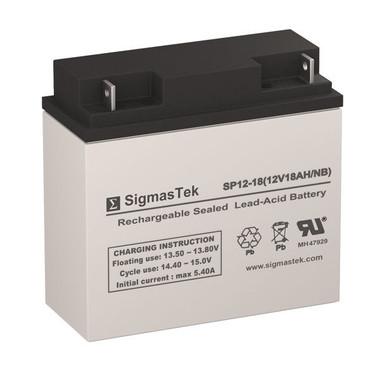 Enerwatt WP20-12 12V 20Ah F3 Replacement Battery