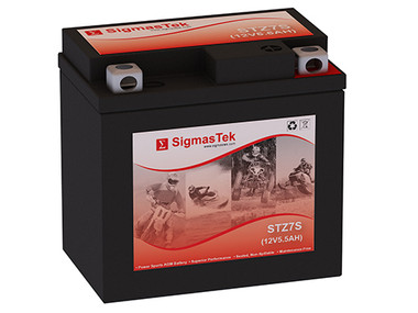 Yamaha YW50A, F, FX Zuma, 2002-2018 Replacement Scooter Battery