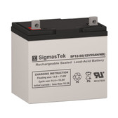 AJC AGM - VRLA Solar Replacement Battery 12V 55AmpH