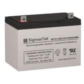 Masterly Solar Generator MSL04-10A Solar AGM SLA Replacement Battery 12V 100AmpH
