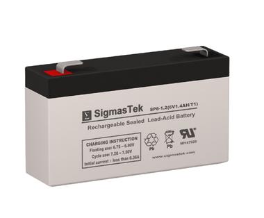 Panasonic LC-R061R3PU Replacement Battery