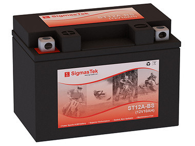 Duralast GT12A-BS FP Replacement Battery by SigmasTek