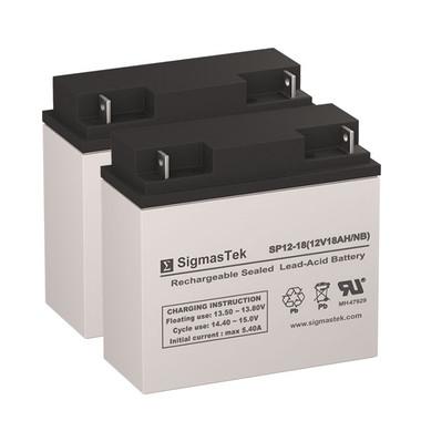 APC Smart-UPS 1400 (DL1400) UPS Battery Set (Replacement)