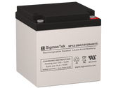 SigmasTek 12 Volt 28 Amp IT Sealed Lead Acid Battery