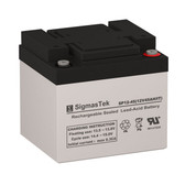 Bright Way Group BW 12500 IT Replacement 12V 45AH SLA Battery