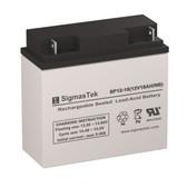 Raion Power RG12180FP 12 Volt 18 Amp Hour NB Replacement 12V 18AH SLA Battery