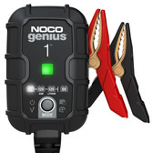 NOCO GENIUS1 Battery Charger and Maintainer, 6V and 12V 1 Amp Hour