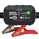 NOCO GENIUS2 Battery Charger and Maintainer, 6V and 12V 2 Amp Hour