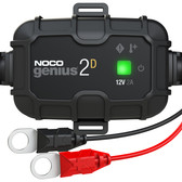 NOCO GENIUS2D Battery Charger and Maintainer, 12V 2 Amp Hour