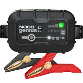 NOCO GENIUS5 Battery Charger and Maintainer, 6V and 12V 5 Amp Hour