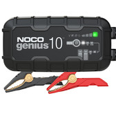 NOCO GENIUS10 Battery Charger and Maintainer, 6V and 12V 10 Amp Hour