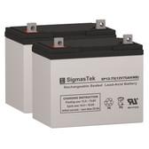 Everest & Jennings Vortex Wheelchair Batteries (Replacement)