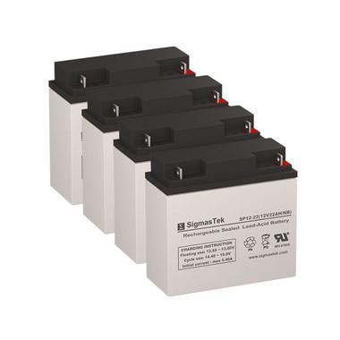 Lifestand LSC Compact Standing Wheelchair Wheelchair Batteries (Replacement)